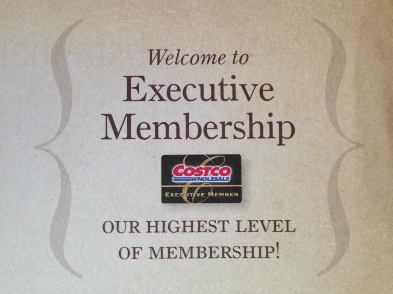 Executive Membership