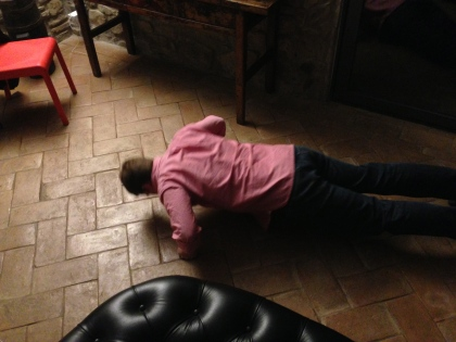 Cain spared Ian the humiliation and did not continue after ten push ups.