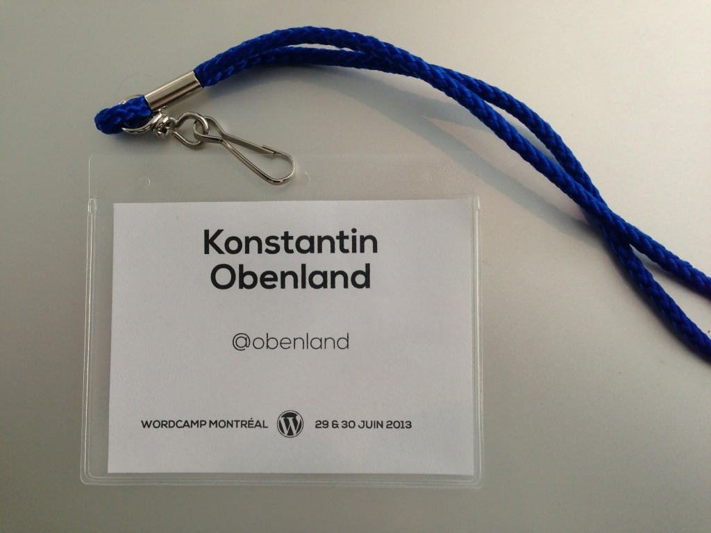 WordCamp Montréal