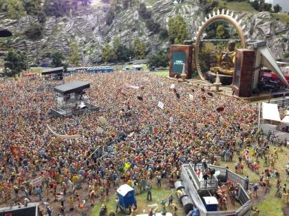 DJ Bobo concert.