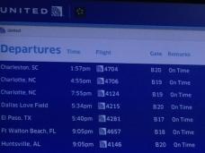 Leaving for Charleston, SC…