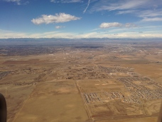 Approaching Denver, on my way to…