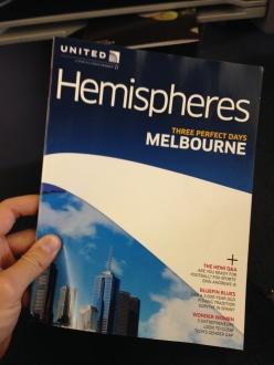 United wants me to go to Australia!