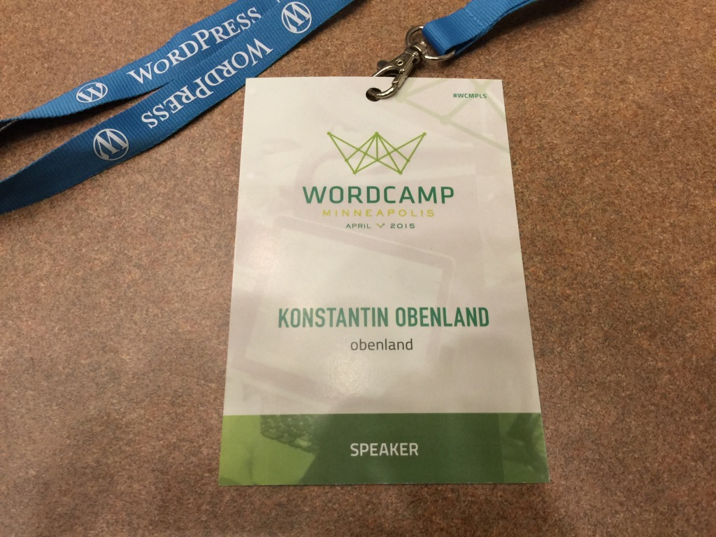 WordCamp Minneapolis