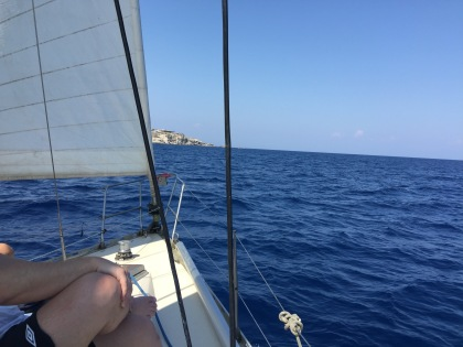 I went on a sailing tour, a highlight of my trip.