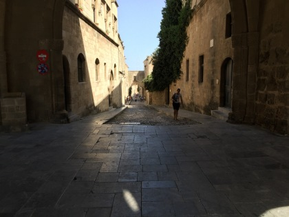 The Street of the Knights.