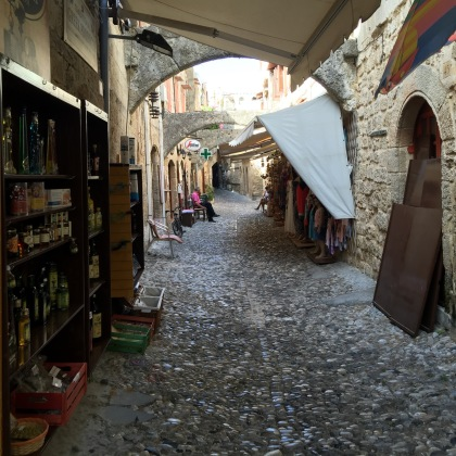 I loved the small alleys in Old Town. Notice the tiny stones they used to cobble the streets!