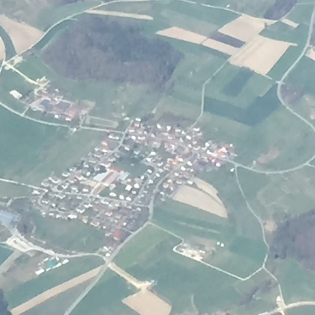 Kaltbrunn, the town I most of my years growing up, between the ages 6 and 17.