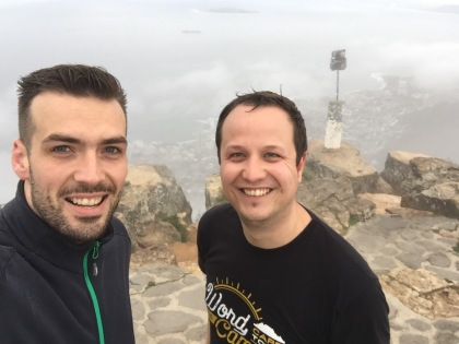 Job and I on top pf Lion's Head.