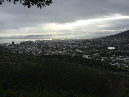 Final view over Cape Town.